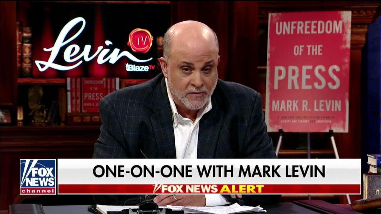 Mark Levin: Media trying to protect Biden, ignoring 'massive Democrat scandal'