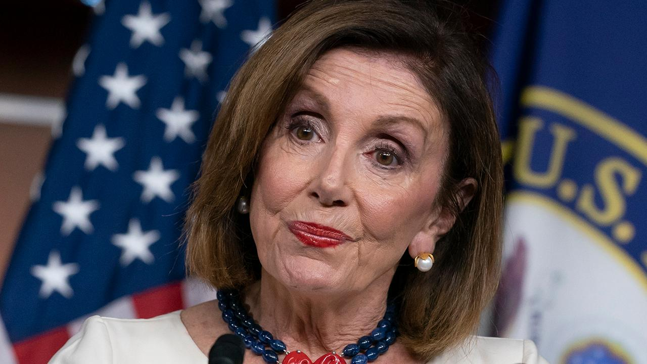 Speaker Nancy Pelosi accuses the Trump administration in engaging in a 'cover-up'