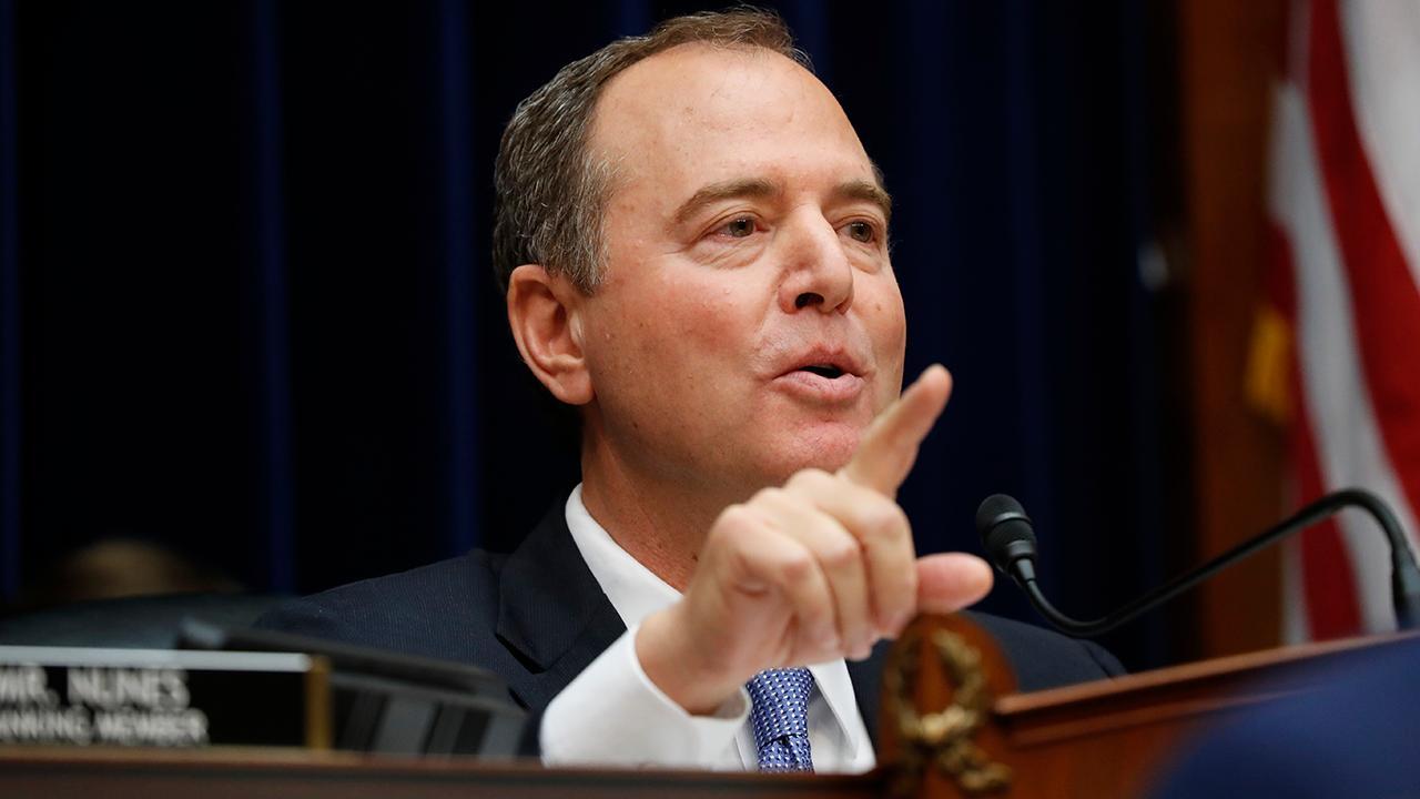 Schiff slammed for 'parody' of Trump call transcript