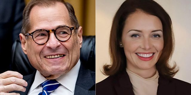 Lindsey Boylan, right, is running against Rep. Jerry Nadler, D-N.Y., in the Democratic primary.