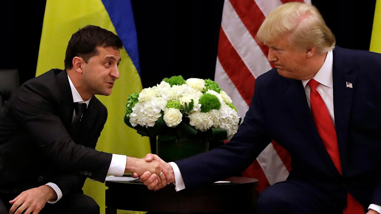 Presidents Trump, Zelensky insist there was no pressure on Ukraine call