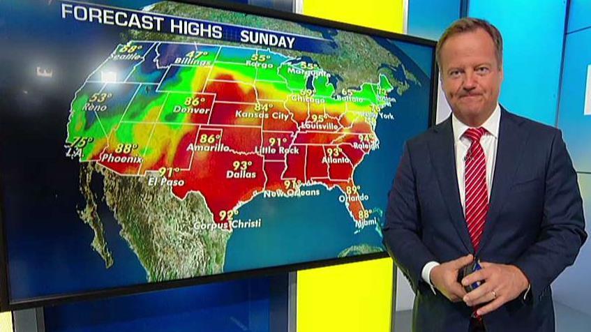 National forecast for Sunday, September 29