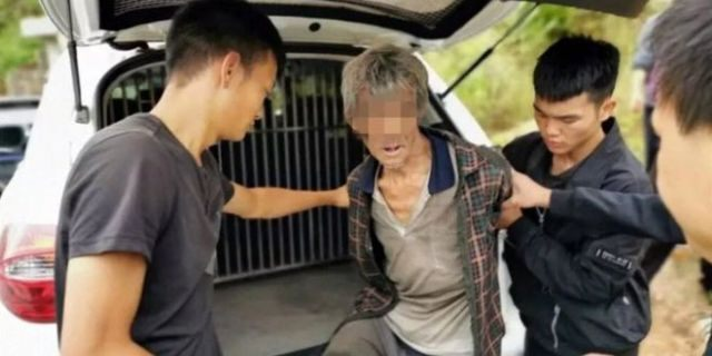 Song Jiang, 63, in custody after 17 years on the run.