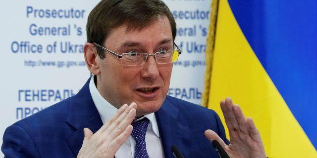 Prosecutor-general of Ukraine Yuri Lutsenko attends a news conference in Kiev, Ukraine, May 30, 2016. REUTERS/Gleb Garanich - D1BETHAMTIAA