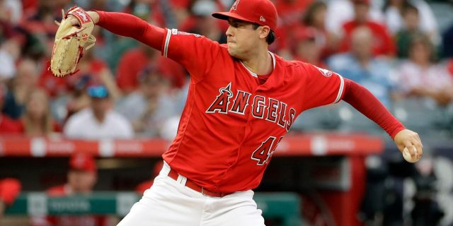 Tyler Skaggs started his final game two days before his death. (AP Photo/Marcio Jose Sanchez)