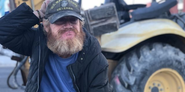Shawn McDougall says he's been living on the streets for 11 years.