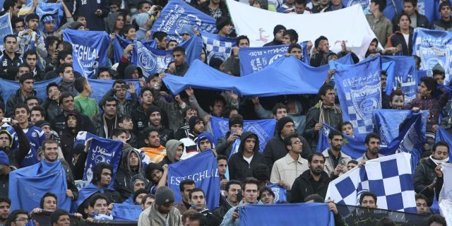 """Sahar Khodayari, an Iranian female soccer fan known as """"Blue Girl"""" for the colors supporting of the Esteghlal team, died after setting herself on fire after learning she may serve a six-month prison sentence for trying to enter a soccer stadium where women are banned."""
