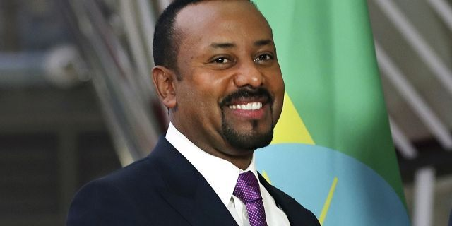 Abiy won the Nobel Peace Prize earlier this month for his efforts to end the 20-year border conflict with neighboring Eritrea.