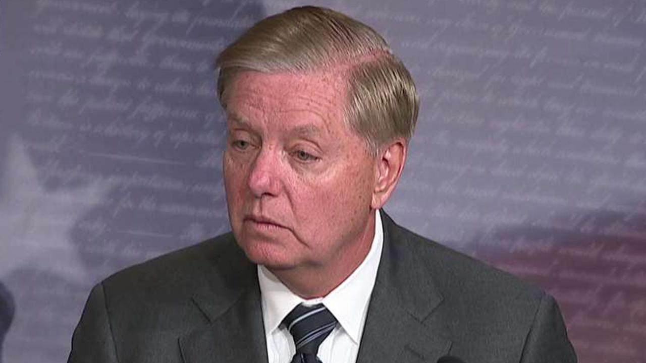 Sen. Lindsey Graham introduces resolution condemning House Democrats' impeachment inquiry
