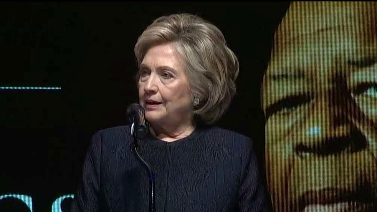 Hillary Clinton: Our Elijah was a fierce champion for truth, justice and kindness
