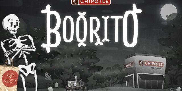If you go trick-or-treating at Chipotle — in costume — you'll be eligible for a $4 burrito, the chain says.