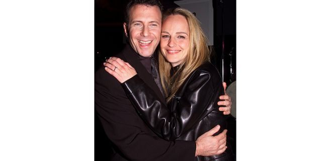 Paul Reiser with Helen Hunt in 1999.