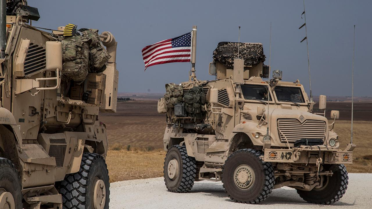 US troops, tanks staying in Syria to protect oil fields from ISIS