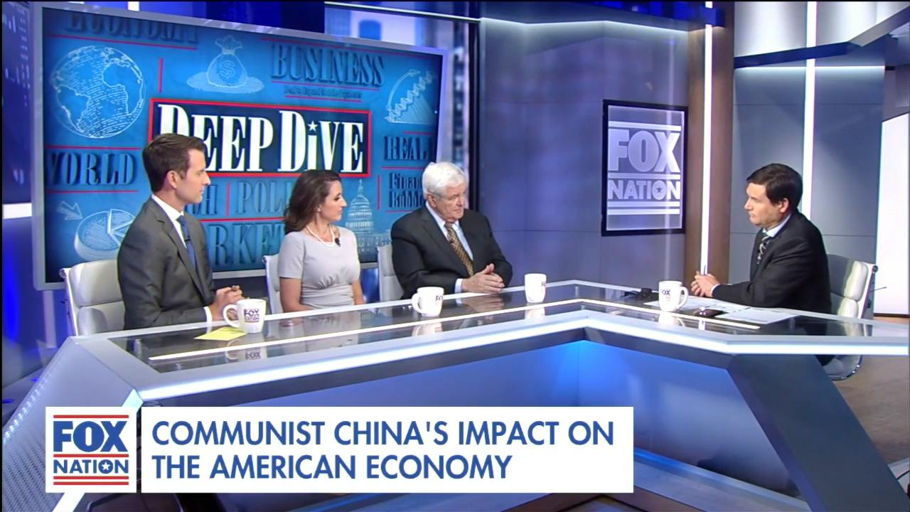 Newt Gingrich: China's NBA smackdown shows America 'not prepared to deal' with historic threat