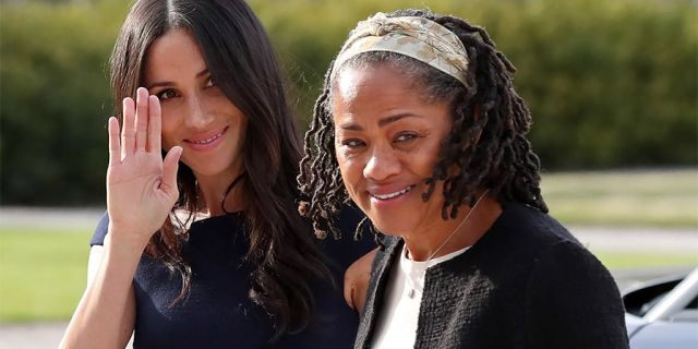 Meghan Markle and her mother Doria Ragland. The matriarch was the only member of Markle's family to attend her wedding to Prince Harry.