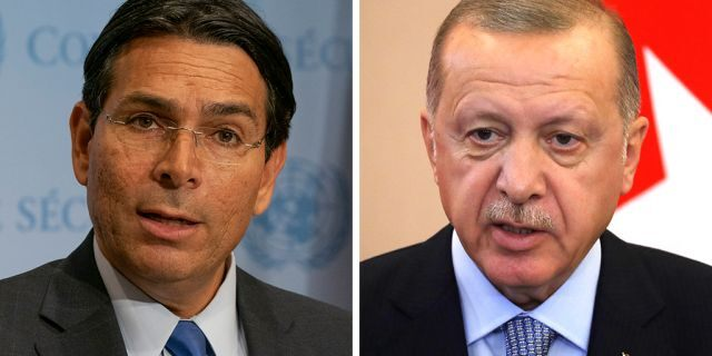 Israel's Ambassador to the United Nations Danny Danon lashed out at Turkish President Recep Tayyip Erdogan in pointed remarks.