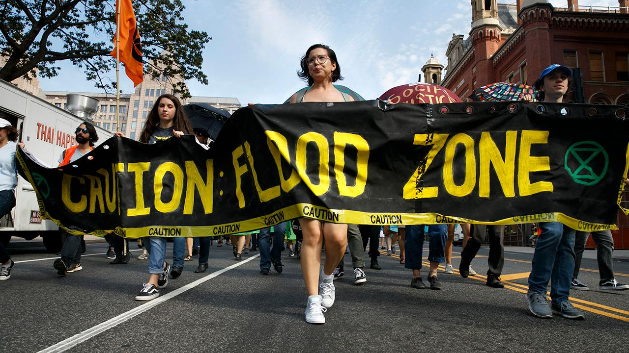 Protesters shut down DC, demand action on climate change
