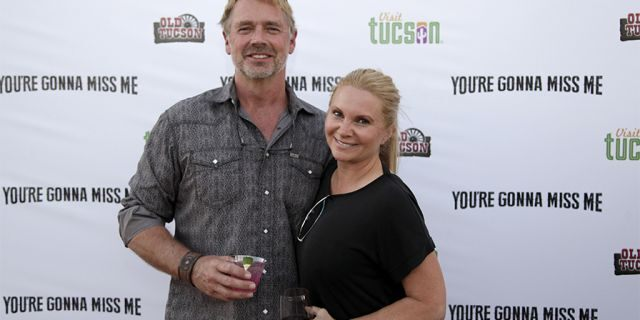 "John Schneider and Alicia Allain attend ""You're Gonna Miss Me"" premiere sponsored by Visit Tucson on May 13, 2017 in Tucson, Arizona. (Photo by Jason Wise/Getty Images for Funimation Entertainment)"