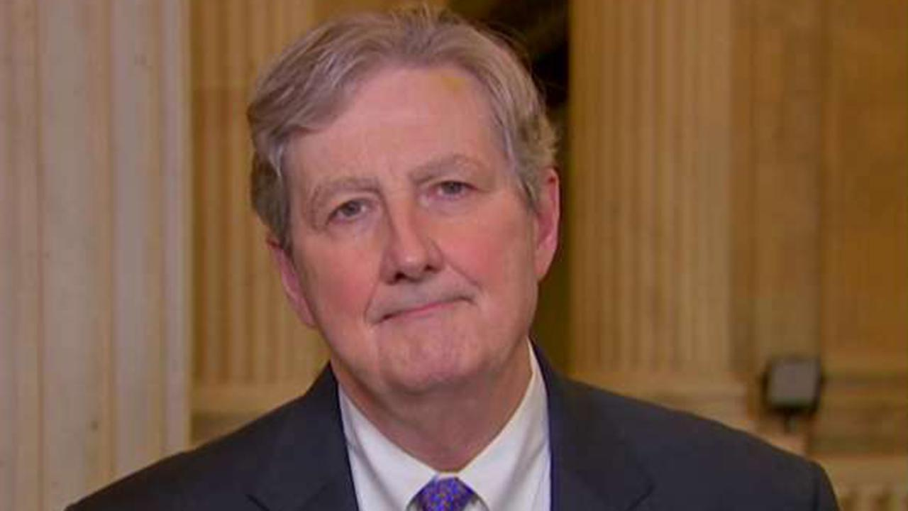 Sen. Kennedy comments on the new House impeachment-related resolution