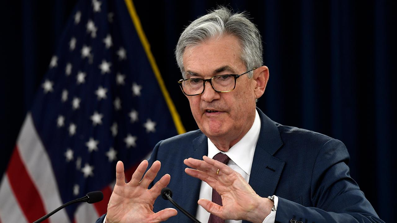 Federal Reserve Chairman Jerome Powell discusses whether or not the U.S. is getting trapped by lower interest rates.