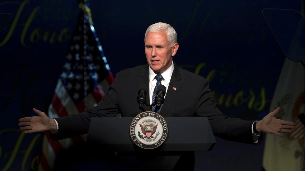 Pence: 'China's trying to export censorship'