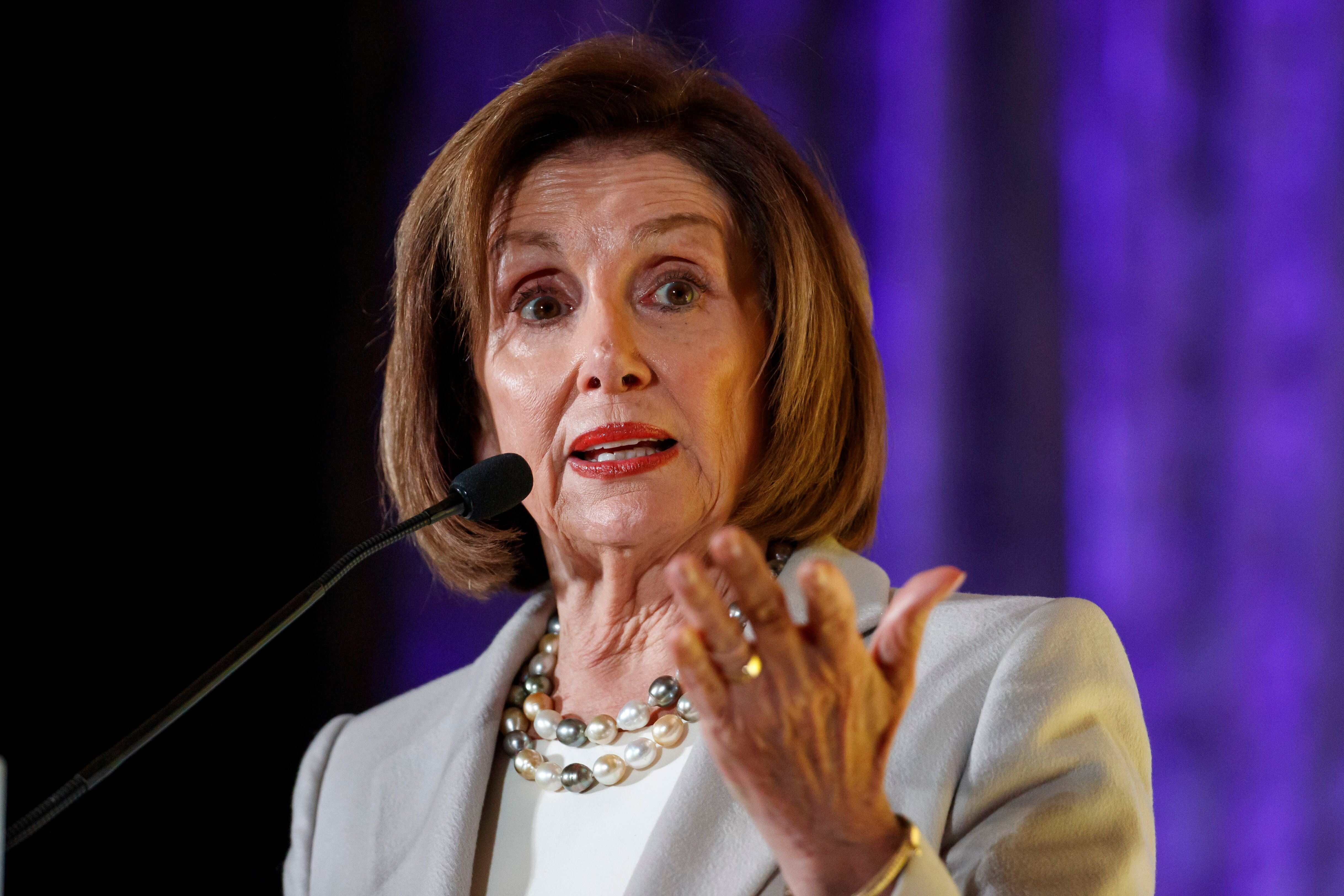 House Speaker Nancy Pelosi announced that an official impeachment inquiry had begun soon after a whistleblower's complaint ab