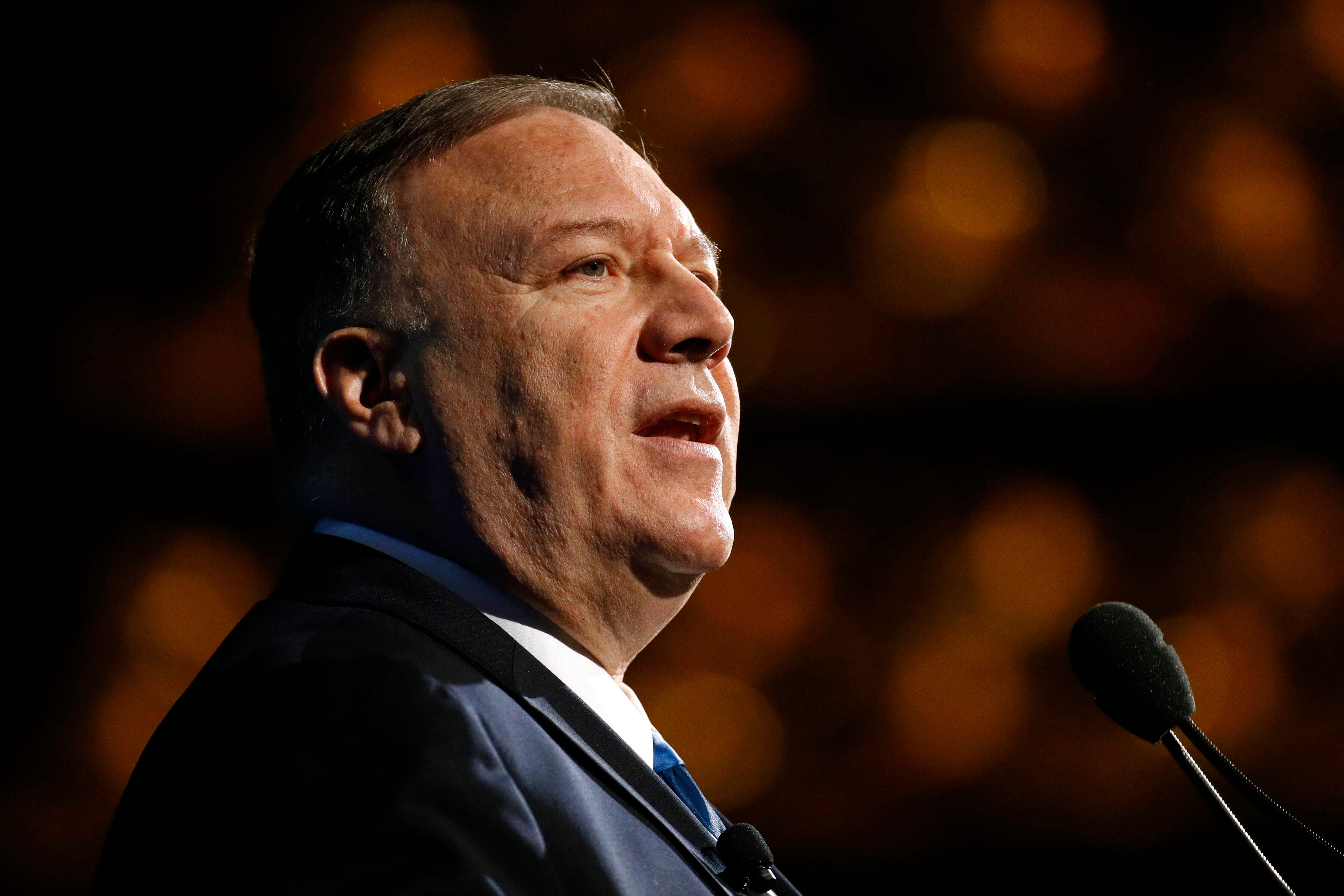 Secretary of State Mike Pompeo was also on the July 25 call to the Ukrainian president.