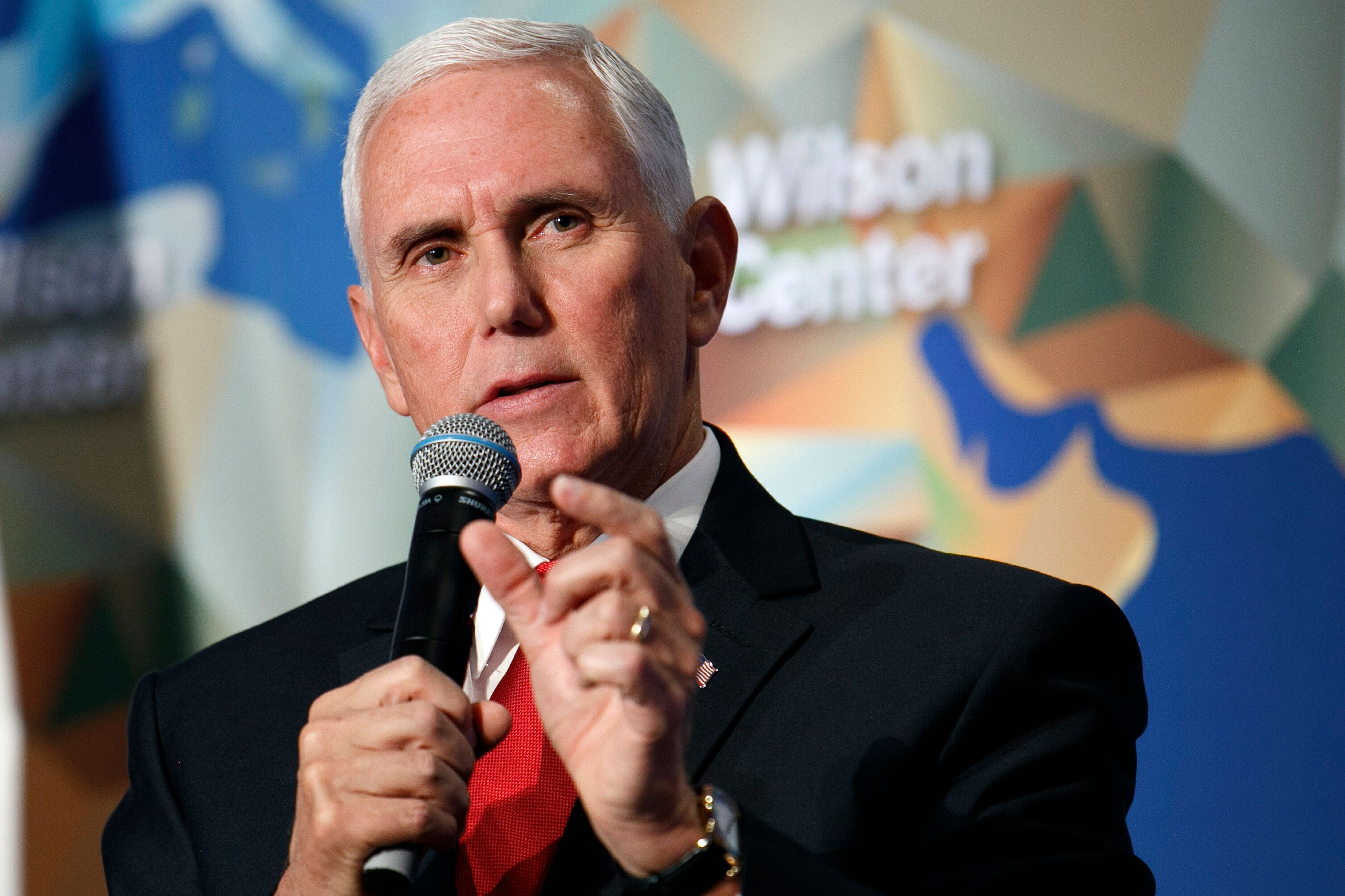 Vice President Mike Pence's name has come up several times in relation to Trump's interactions with the Ukrainians.