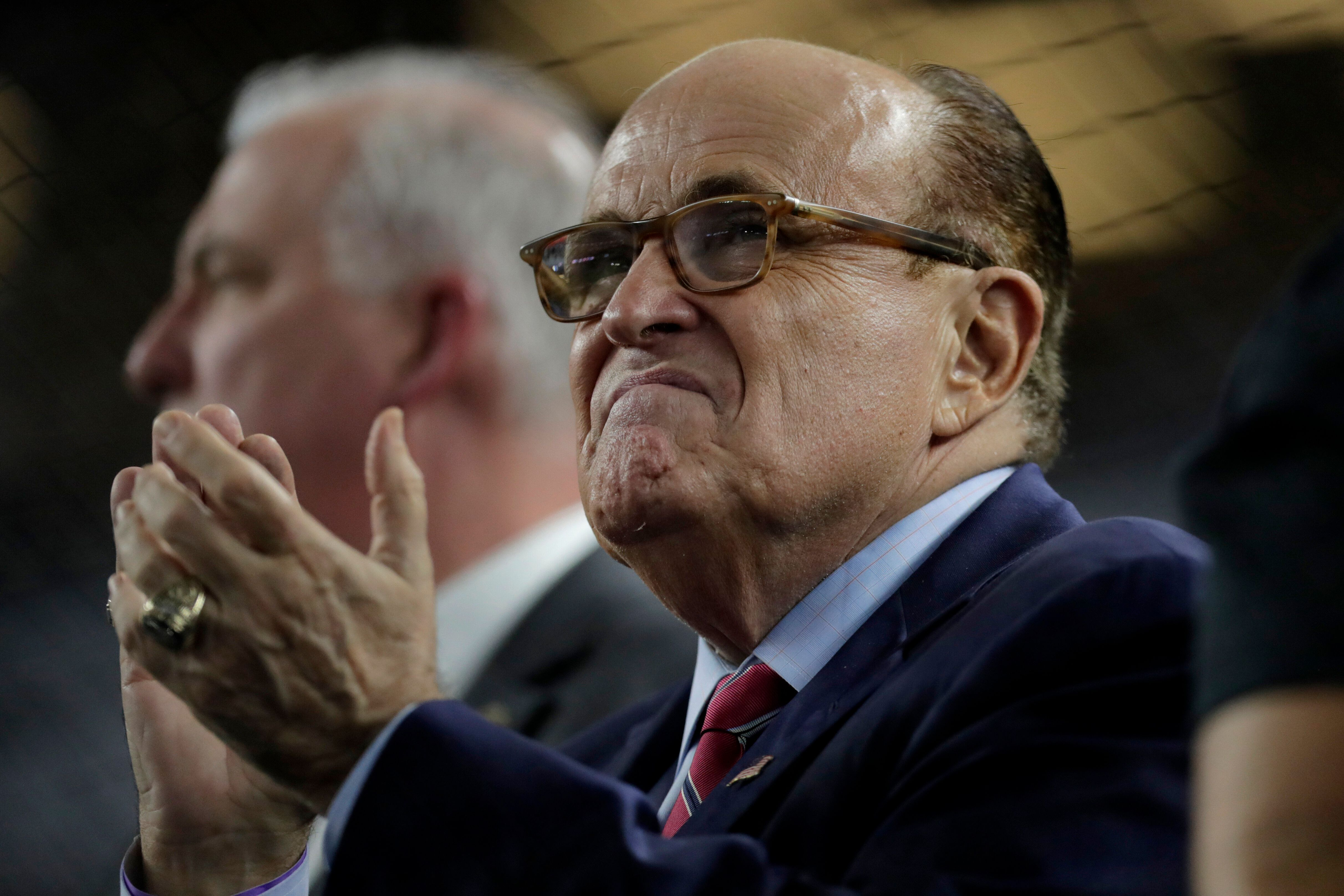 Former New York Mayor Rudy Giuliani has become Trump's personal attorney and chief defender on cable news shows.