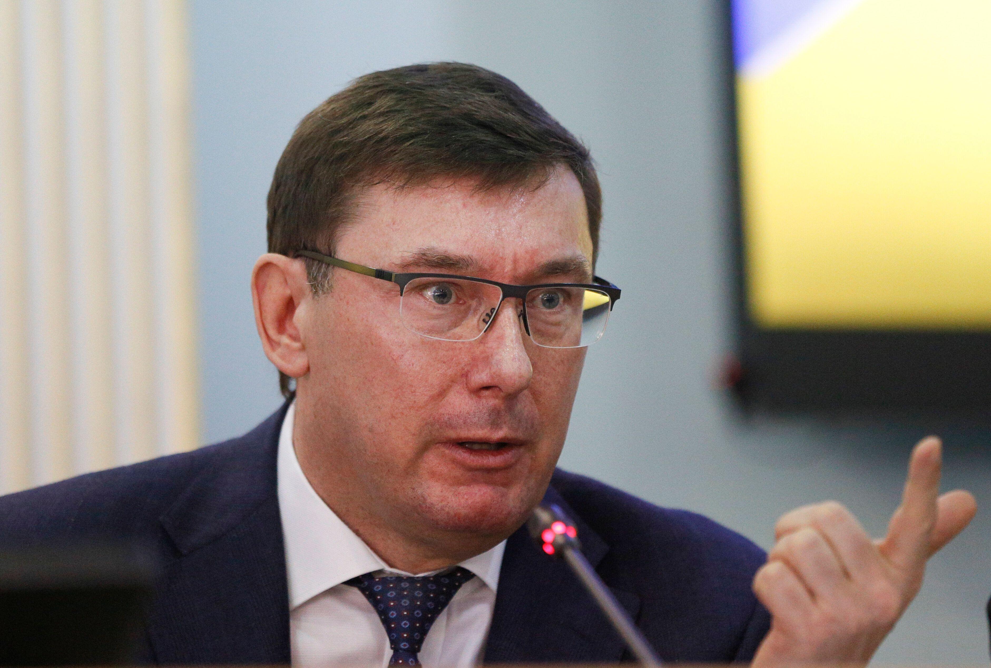 Ukrainian Prosecutor General Yuriy Lutsenko was involved in the ouster of U.S. Ambassador Marie Yovanovitch.