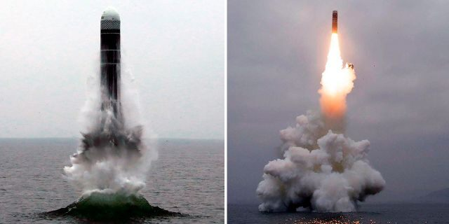 Earlier this month, North Korea test-fired an underwater-launched ballistic missile, its first such test in three years.