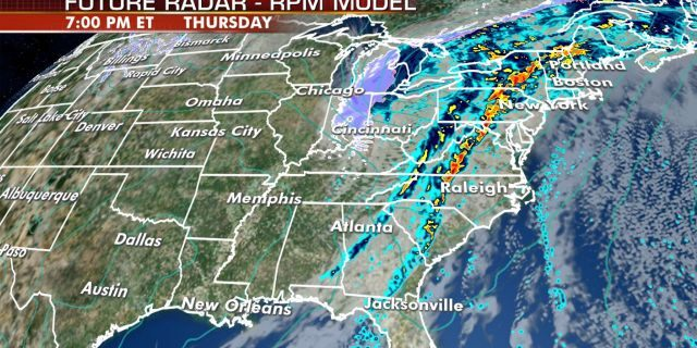 A squall line is forecast to develop as a cold front moves east, potentially impacting trick-or-treaters on Halloween.