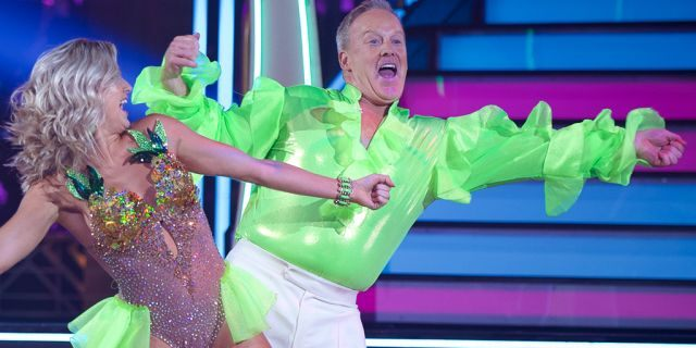 Sean Spicer competing on 'Dancing with the Stars.'