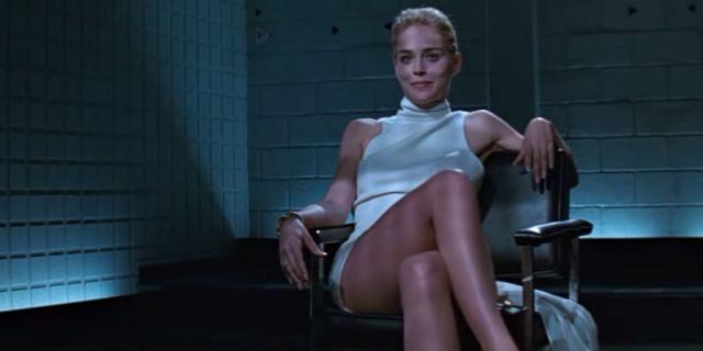 "Sharon Stone in ""Basic Instinct."""