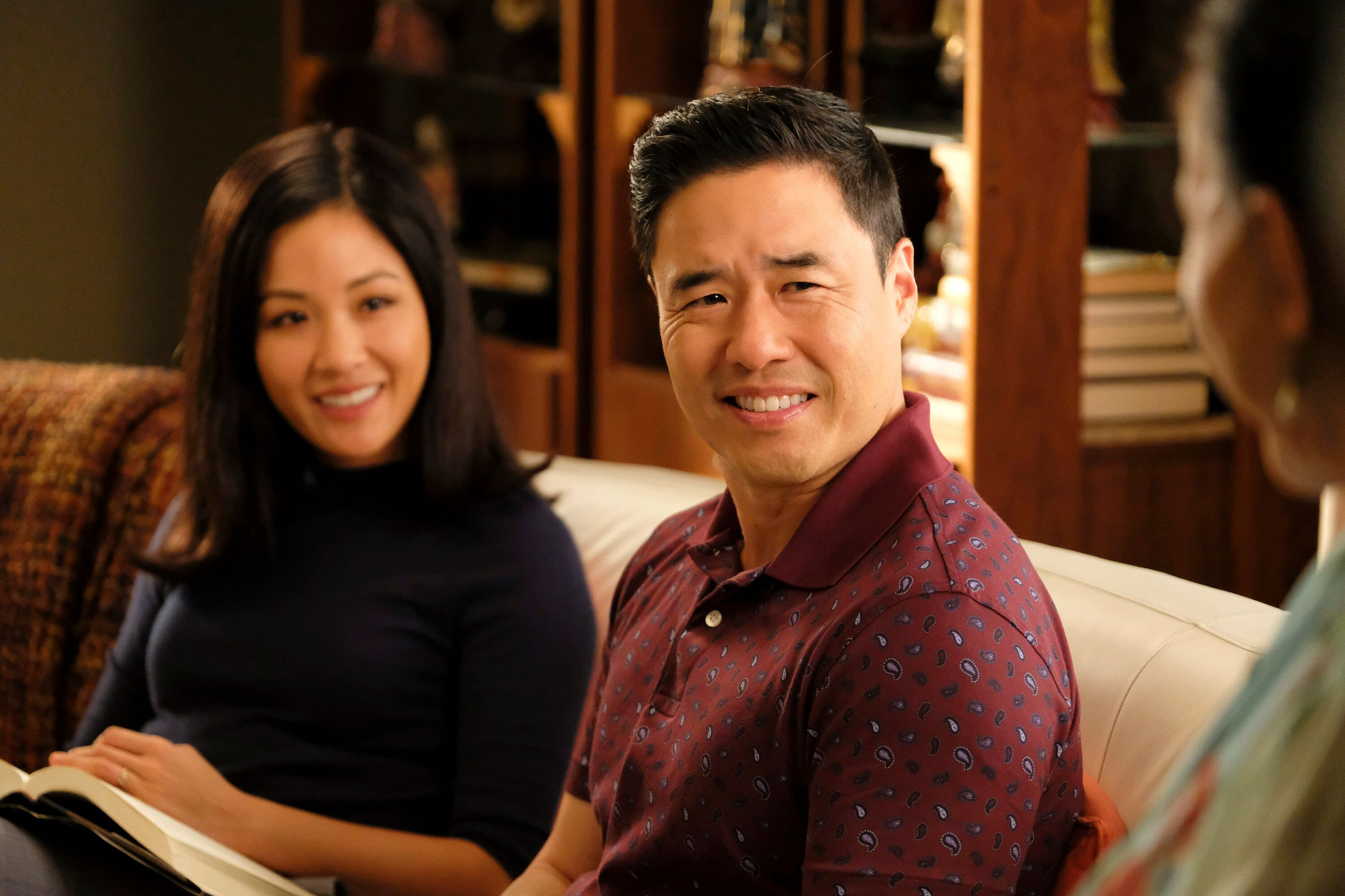 """Constance Wu and Randall Park in """"Fresh Off the Boat."""""""