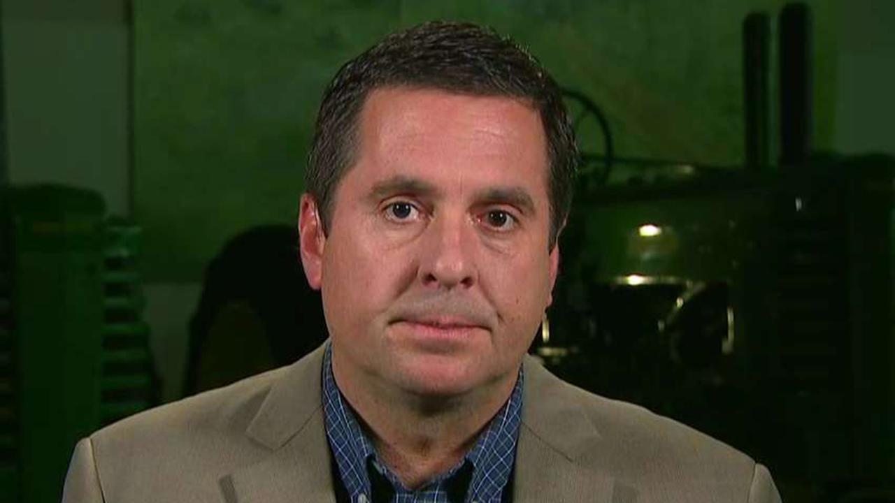 Nunes praises John Solomon's reporting on impeachment inquiry, Biden-Ukraine controversy
