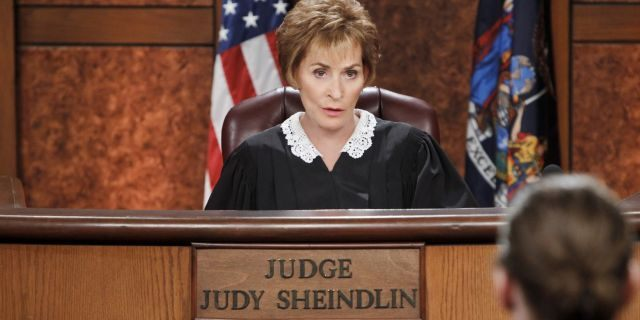 Judge Judy Sheindlin's television show has been airing for nearly a quarter-century. (CBS via Getty Images)