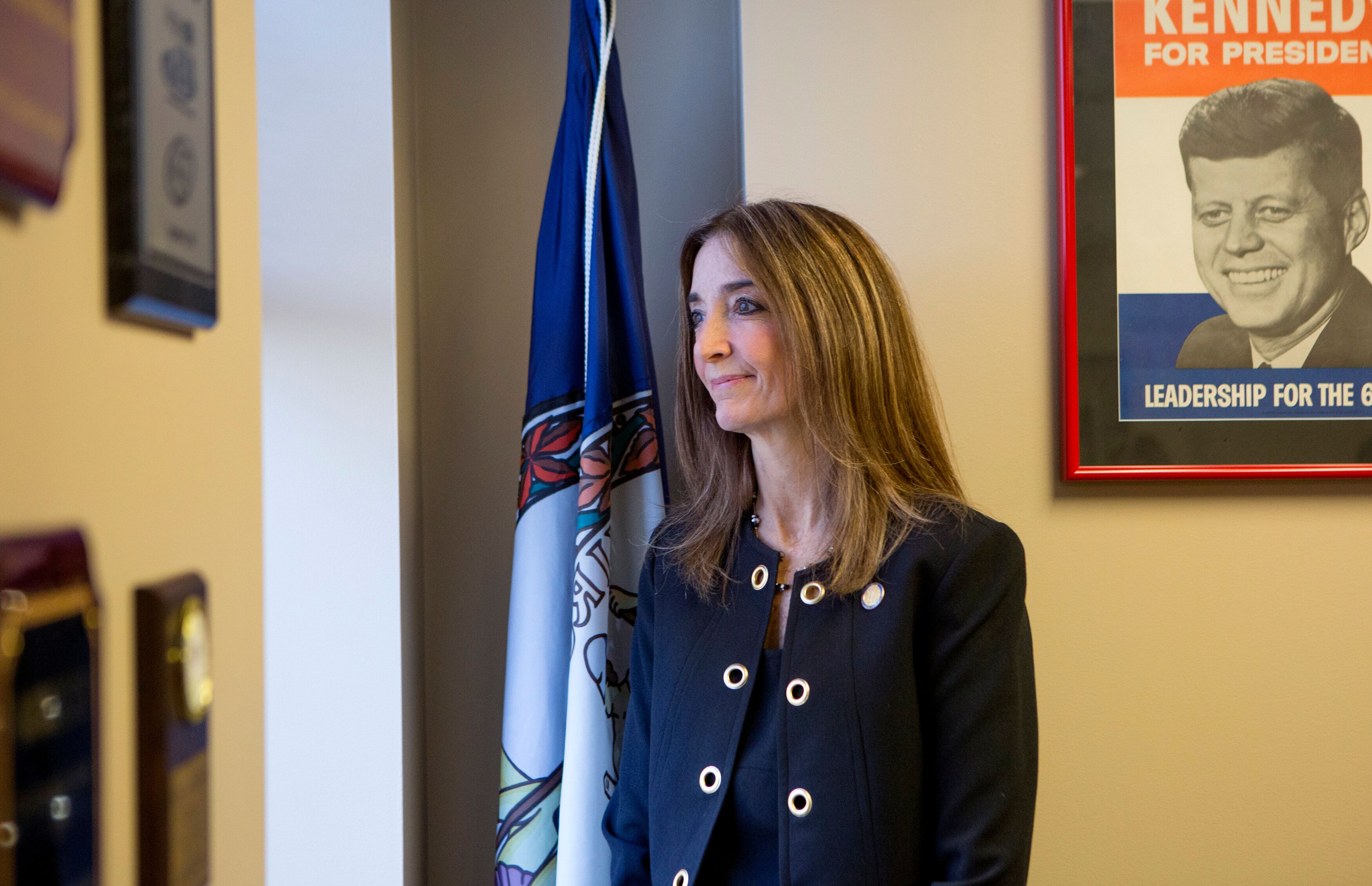 Virginia Del. Eileen Filler-Corn (D) is arguing that she has successfully steered the state House Democratic Caucus through a