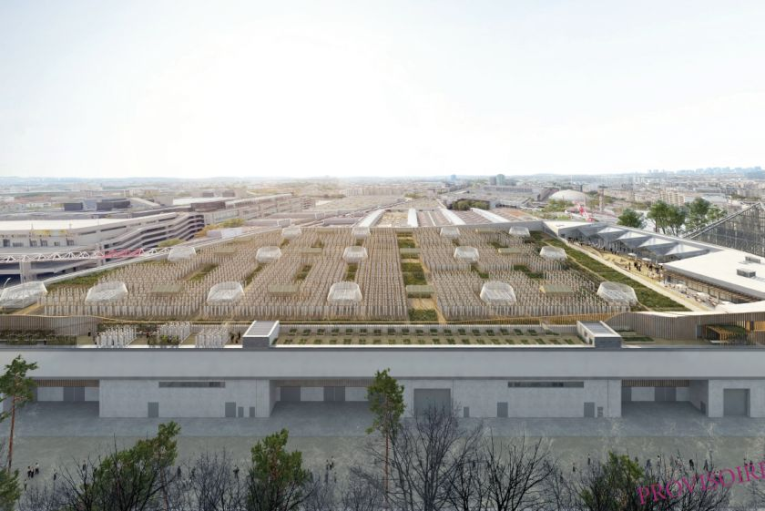 A new 150,000-square-foot urban farm in Paris has been billed as the largest rooftop farm in the world and is set to ope