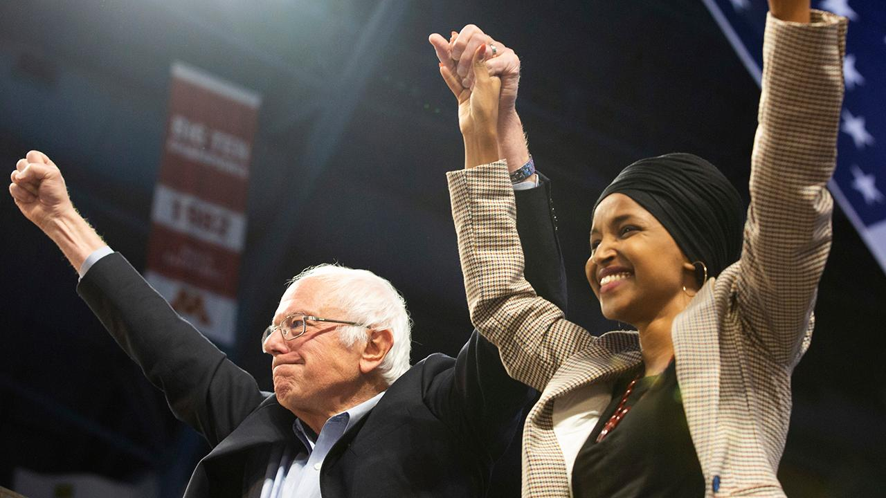 Rep. Ilhan Omar endorses Bernie Sanders, says he will fight against 'western imperialism'