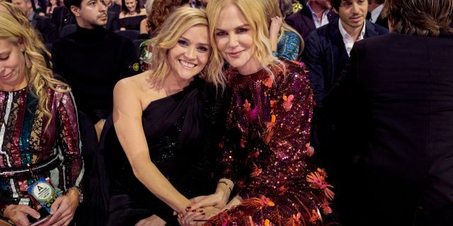 Reese Witherspoon and Nicole Kidman at the 2019 CMA Awards. (Photo by John Shearer/Getty Images for the Country Music Association)