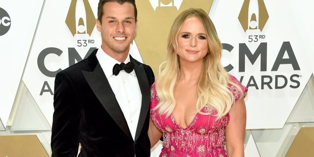 NASHVILLE, TENNESSEE - NOVEMBER 13: (FOR EDITORIAL USE ONLY) Brendan Mcloughlin and Miranda Lambert attend the 53rd annual CMA Awards at the Music City Center on November 13, 2019 in Nashville, Tennessee. (Photo by John Shearer/WireImage,)