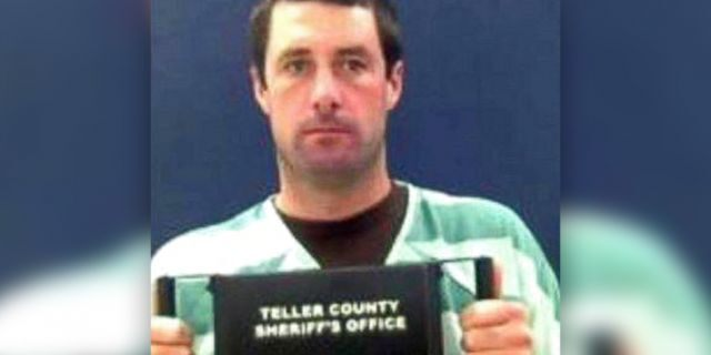 Patrick Frazee is accused of killing his fiancee Kelsey Berreth. (Teller County Sheriff's Office via AP)