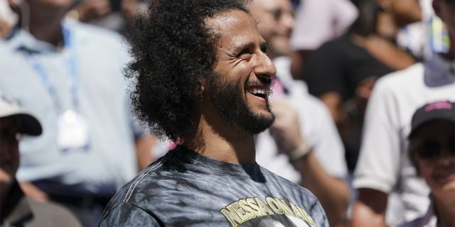 Colin Kaepernick attends the US Open tennis tournament in New York this past August (KENA BETANCUR/AFP via Getty Images)