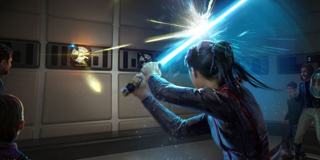"""The immersive Star Wars: Galactic Starcruiser adventure """"will surround guests 24/7 inStar Wars storytelling,"""" promises thenews release."""