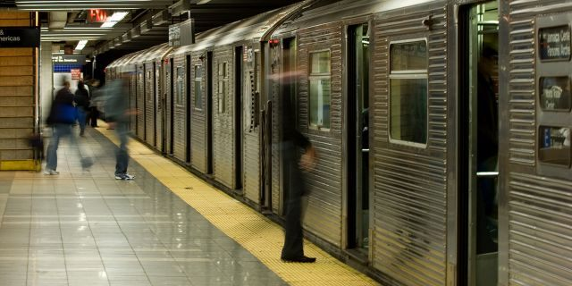 One woman was killed and another was injured after falling in between two subway cars early Sunday, according to the NYPD.