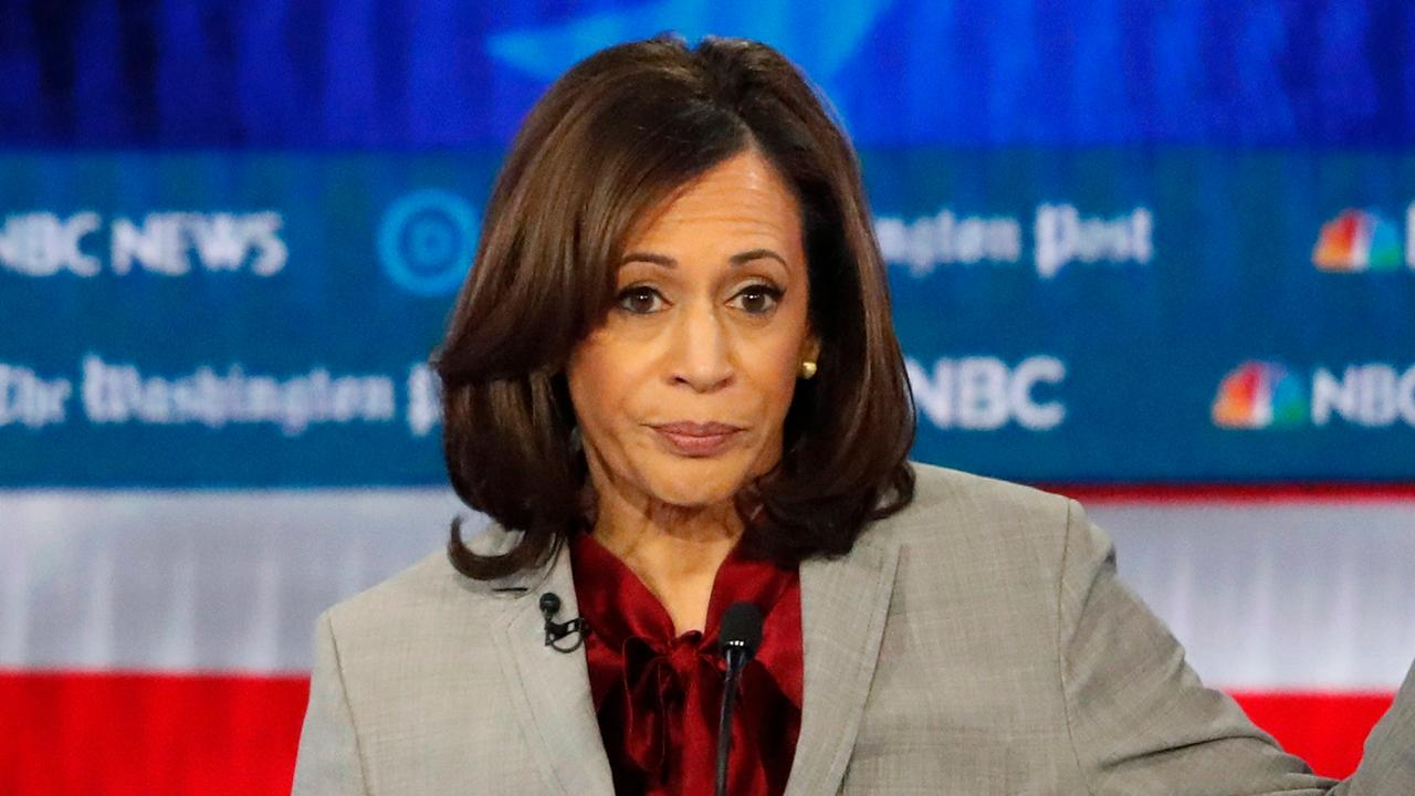Kamala Harris out of the 2020 presidential primary running