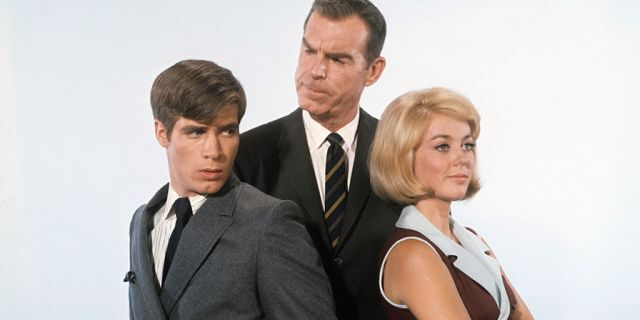 """Don Grady, Fred MacMurray and Tina Cole starred in """"My Three Sons."""""""