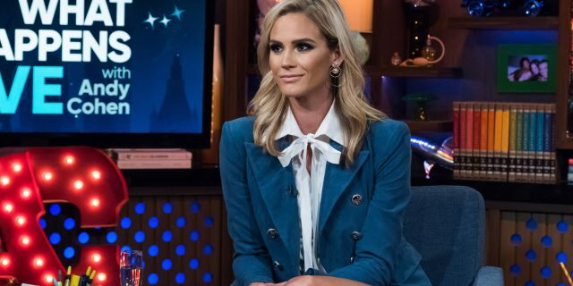 Meghan King Edmonds on 'Watch What Happens Live with Andy Cohen.' (Photo Charles Sykes/Bravo/NBCU Photo Bank via Getty Images)