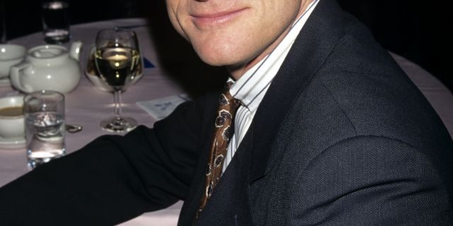 Daniel McDonald pictured at the 1997 Drama League Awards luncheon at the Grand Ballroom in New York City, reportedly dated Jennifer Aniston years before his death in 2007.